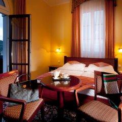 Отель Chateau Monty Spa Resort 4* Улучшенный номер с различными типами кроватей фото 3