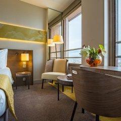 Radisson Blu Hotel Lyon 4* Стандартный номер с различными типами кроватей фото 3