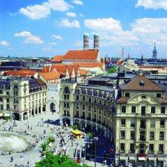 Отель City Aparthotel München Германия, Мюнхен - 2 отзыва об отеле, цены и фото номеров - забронировать отель City Aparthotel München онлайн приотельная территория фото 2