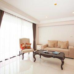 Отель Rocco Huahin Condominium Люкс с различными типами кроватей фото 10
