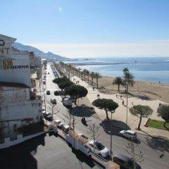 Отель Palmeras 5.2 Испания, Курорт Росес - отзывы, цены и фото номеров - забронировать отель Palmeras 5.2 онлайн балкон