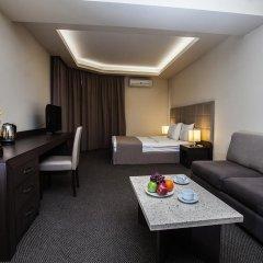 Отель Aviatrans 4* Семейный номер Делюкс с двуспальной кроватью фото 2