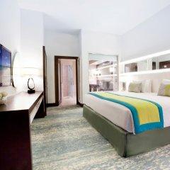 JA Ocean View Hotel 5* Стандартный семейный номер с различными типами кроватей фото 2