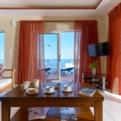 Апартаменты Nymphes Luxury Apartments комната для гостей фото 7