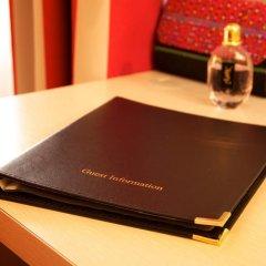 Отель Hôtel Le Richemont 3* Стандартный номер с двуспальной кроватью фото 11