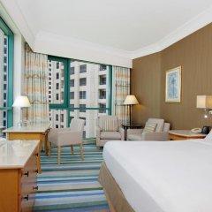 Отель Hilton Dubai Jumeirah 5* Представительский люкс с различными типами кроватей фото 2