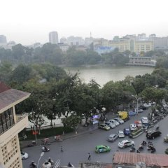 Отель Hanoi Bella Rosa Suite Hotel Вьетнам, Ханой - отзывы, цены и фото номеров - забронировать отель Hanoi Bella Rosa Suite Hotel онлайн приотельная территория фото 2