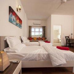 Отель Amra Palace 4* Улучшенный номер с различными типами кроватей фото 3