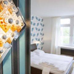 Отель Pension furDich Стандартный номер с различными типами кроватей фото 2
