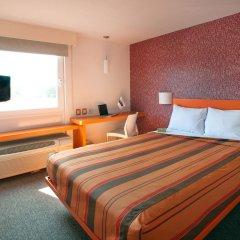 Отель City Express Junior Guadalajara Periférico Sur 2* Стандартный номер с различными типами кроватей фото 4