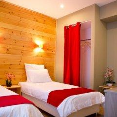 Гостевой дом Резиденция Парк Шале Стандартный номер с различными типами кроватей фото 14