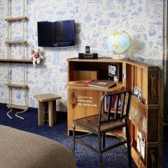 25hours Hotel HafenCity 4* Каюта разные типы кроватей фото 9