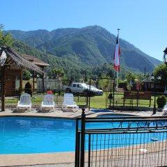Отель Cabañas Los Tilos бассейн фото 3