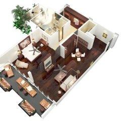 Отель JW Marriott Khao Lak Resort and Spa 5* Представительский люкс с различными типами кроватей фото 2