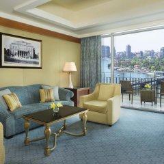 Отель The Nile Ritz-Carlton, Cairo 5* Люкс с различными типами кроватей фото 4