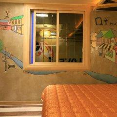 Haeundae Grimm Hotel 2* Номер Делюкс с различными типами кроватей фото 14