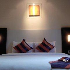 Отель Studio Sukhumvit 18 by iCheck Inn Таиланд, Бангкок - отзывы, цены и фото номеров - забронировать отель Studio Sukhumvit 18 by iCheck Inn онлайн комната для гостей фото 5