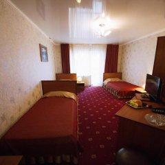 Гостиница Плаза 4* Номер Делюкс разные типы кроватей фото 4
