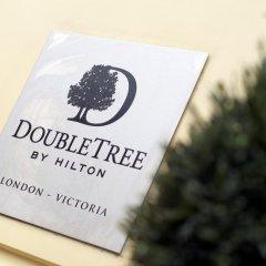 Отель DoubleTree by Hilton London Victoria 4* Стандартный номер с различными типами кроватей фото 2