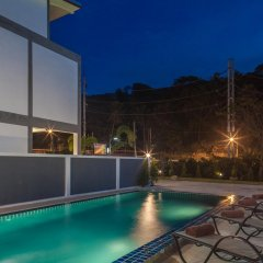 Отель Kata Hill View Villas by Kata Sea View Villas 3* Вилла разные типы кроватей фото 2