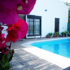 Отель Chalet rural Cuesta la Ermita бассейн