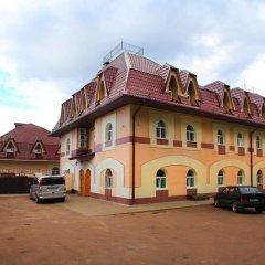 Гостиница Милославский парковка