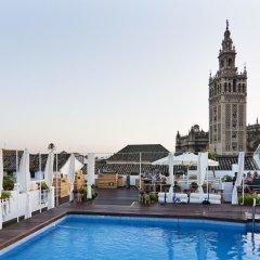 Отель Fontecruz Sevilla Seises Испания, Севилья - отзывы, цены и фото номеров - забронировать отель Fontecruz Sevilla Seises онлайн бассейн фото 3