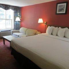 Отель Days Inn by Wyndham Gatlinburg On The River 2* Стандартный номер с различными типами кроватей фото 2