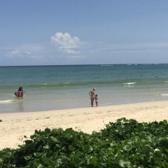 Отель Dang Sea Beach Bungalow пляж