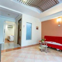 Отель Le Tong Beach 2* Номер Делюкс с двуспальной кроватью фото 9