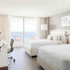 Отель Marriott Stanton South Beach 4* Номер Делюкс с различными типами кроватей фото 4
