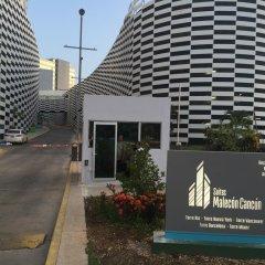 Отель Suites Malecon Cancun вид на фасад фото 3