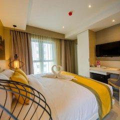 Отель Bizotel Bangkok 3* Улучшенный номер фото 4