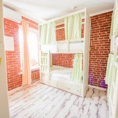 Волхонка хостел Кровать в женском общем номере с двухъярусными кроватями фото 13