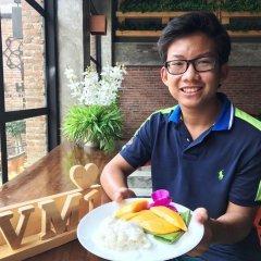 Vm1 Hostel Бангкок балкон