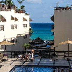 Отель Aldea Thai by Ocean Front Плая-дель-Кармен бассейн фото 2