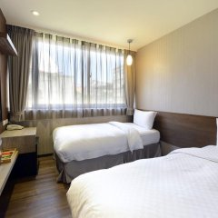 Ximen Hedo Hotel Kangding,Taipei 3* Номер Делюкс с 2 отдельными кроватями фото 4