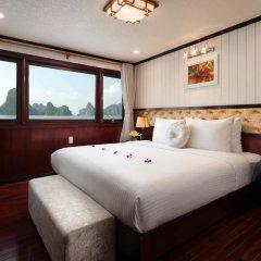 Отель Halong Silversea Cruise 3* Номер Делюкс с различными типами кроватей фото 2