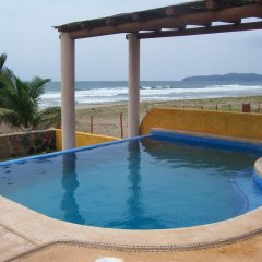 Отель Villa Puesta del Sol Мексика, Коакоюл - отзывы, цены и фото номеров - забронировать отель Villa Puesta del Sol онлайн бассейн фото 3