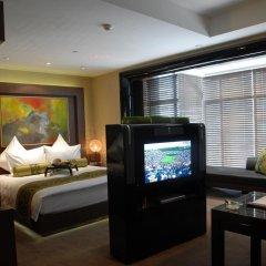 Pudi Boutique Hotel Fuxing Park Shanghai 4* Улучшенный номер с различными типами кроватей фото 6