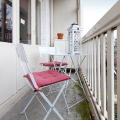 Отель Bed&Bike Нидерланды, Амстердам - отзывы, цены и фото номеров - забронировать отель Bed&Bike онлайн балкон