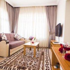 Апартаменты Feyza Apartments Студия Делюкс с различными типами кроватей фото 23