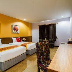 Отель The Win Pattaya 4* Номер Делюкс с различными типами кроватей фото 3