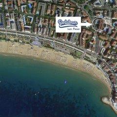 Отель Apartamentos Los Peces Rentalmar Испания, Салоу - 1 отзыв об отеле, цены и фото номеров - забронировать отель Apartamentos Los Peces Rentalmar онлайн пляж