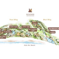 Отель Katathani Phuket Beach Resort 5* Люкс Премиум с различными типами кроватей