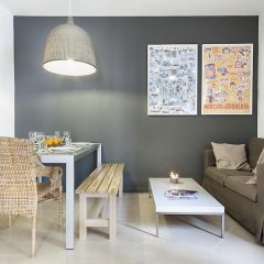 Апартаменты Habitat Apartments Barceloneta Барселона питание