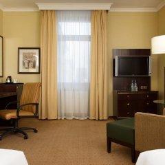 Гостиница Hilton Москва Ленинградская 5* Представительский номер с различными типами кроватей фото 8