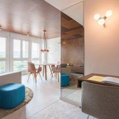 EMA House Hotel Suites 4* Представительский люкс с различными типами кроватей фото 7