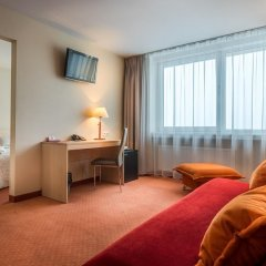 Panorama Hotel 3* Люкс с двуспальной кроватью фото 9
