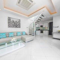 Отель Villas In Pattaya 5* Стандартный номер с 2 отдельными кроватями фото 9